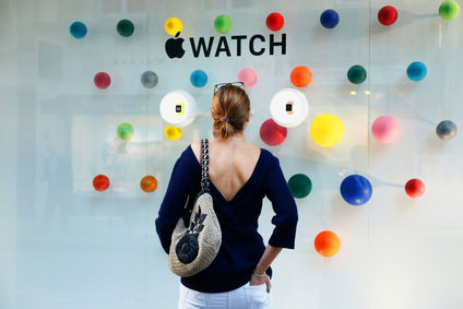 Présentation de l'Apple Watch au concept store Colette